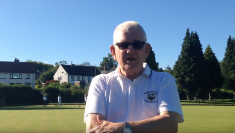 John Alford, from Cwmbran Park Bowls Club