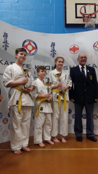 Cwmbran Karate at the  BKK National Kata Tournament