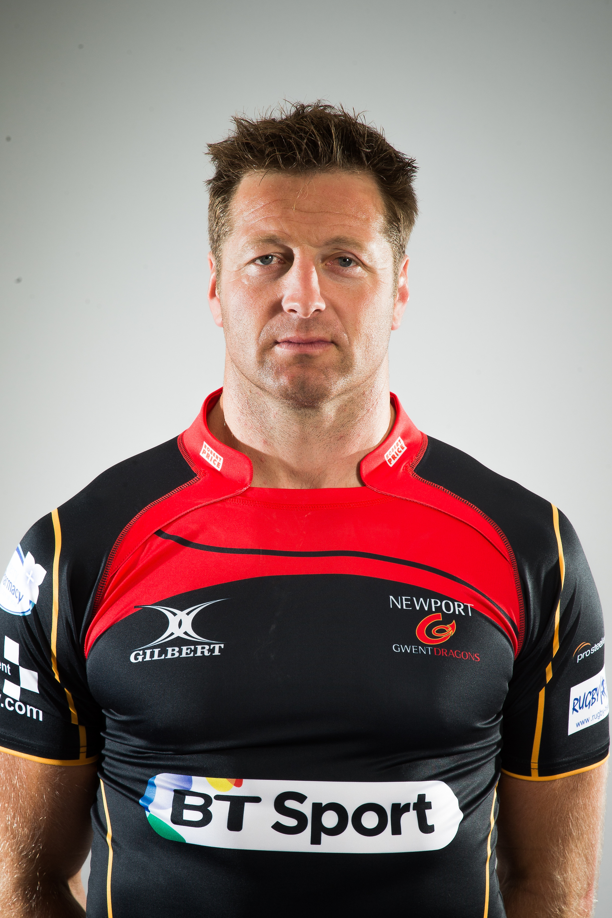 Ian Gough- Thanks to the Dragons for permission to use this photo taken by Huw Evans Agency in April 2014
