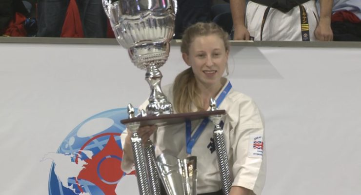 Cwmbran woman wins gold in the European full contact karate championships