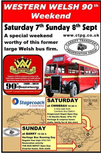 Bus event poster